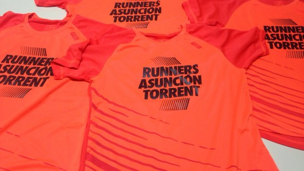 Camisetas Runners Asuncion Torrent