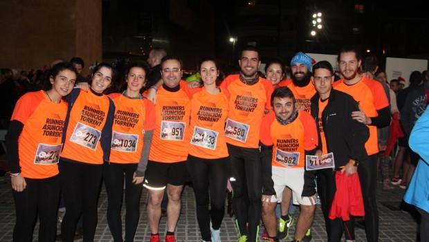 Runners Asunción en la San Silvestre Torrent